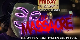the massacre the wildest halloween party tickets - Detroit Halloween Parties