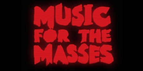 music for the masses halloween 80s new wave tickets - List Of Halloween Music
