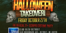 halloween takeover official scorpio costume party tickets - Detroit Halloween Parties