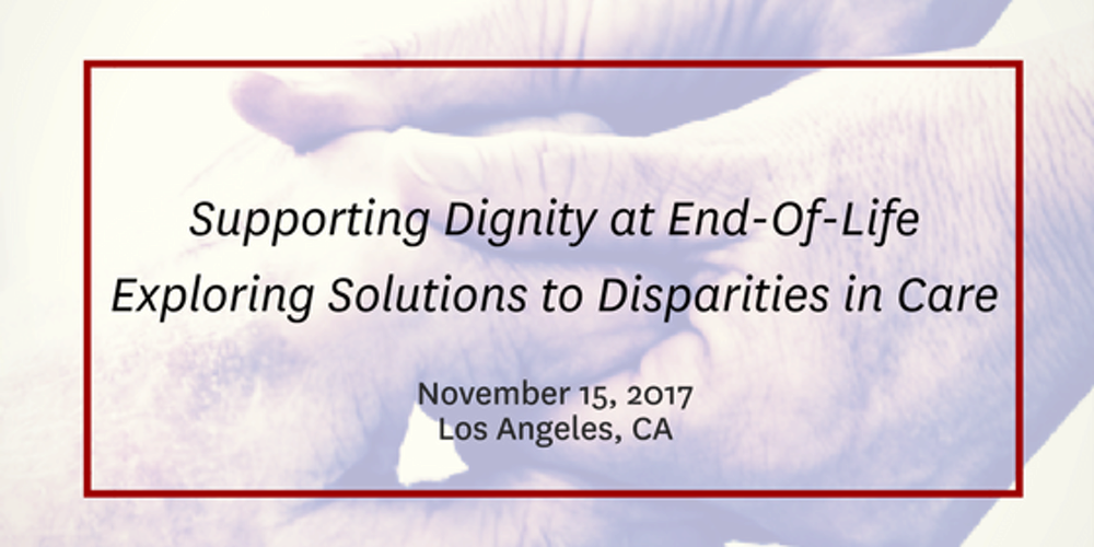 dignity at the end of life Read about dignity health's stance on the end of life options act as passed in ca.