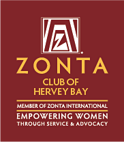 Zonta Club of Hervey Bay logo