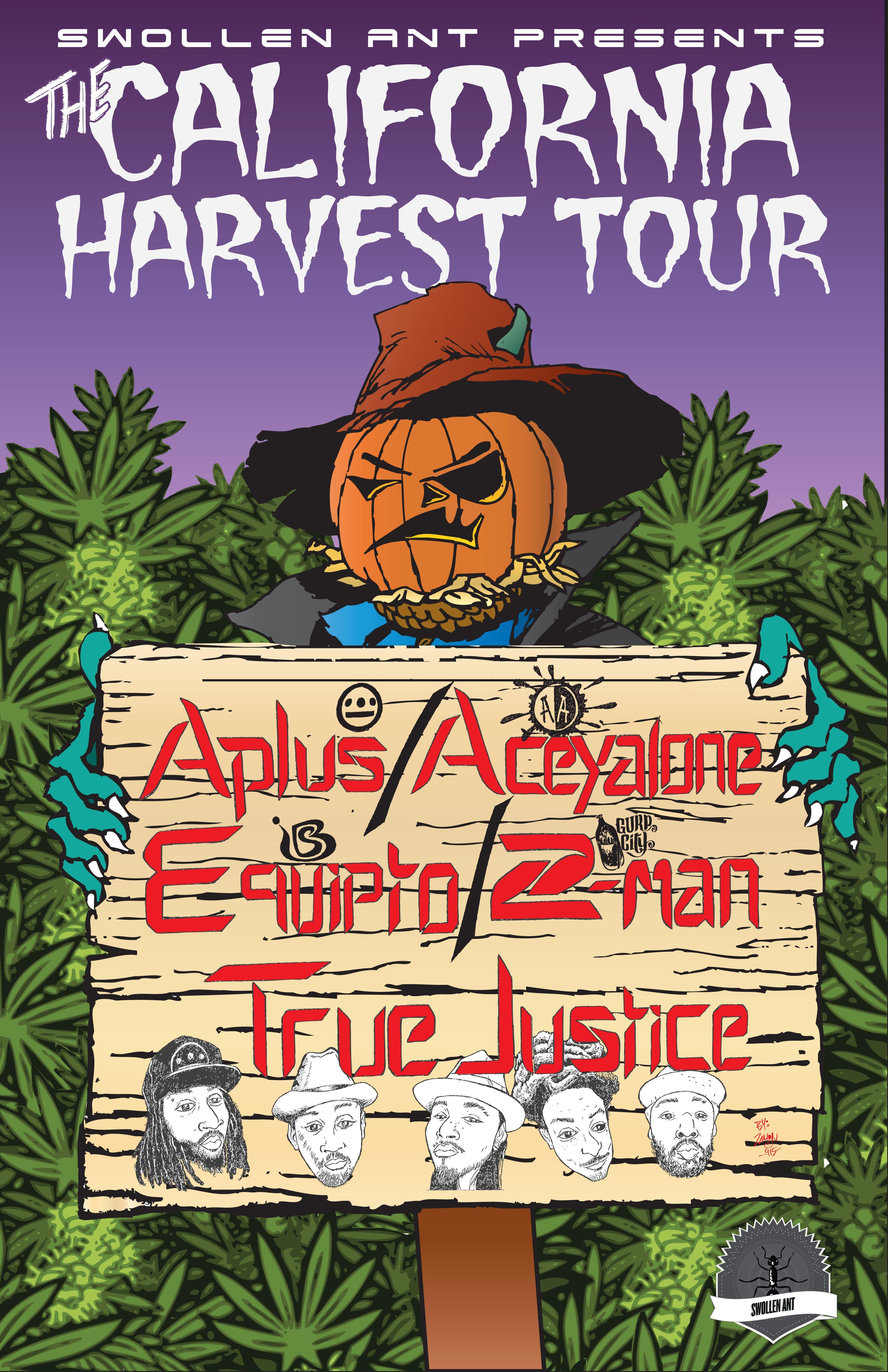 The California Harvest Tour
