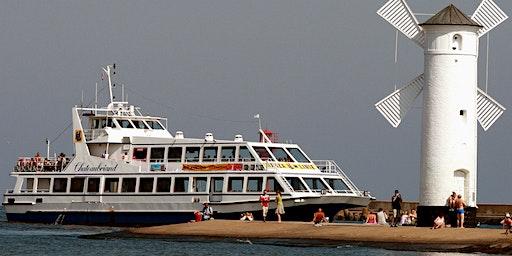 Hafenrundfahrt Swinemünde - das Schiff m/s Chateaubriand