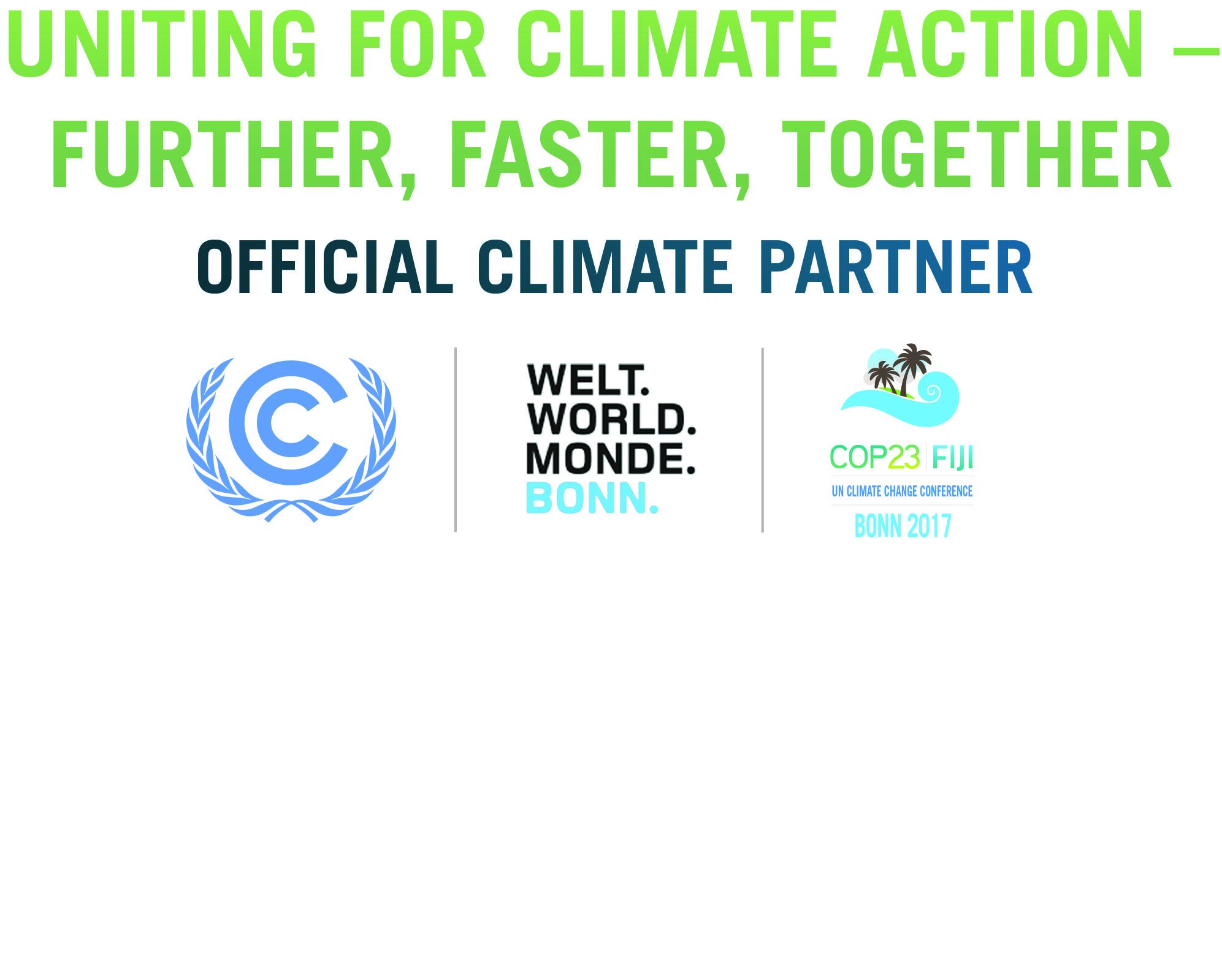 Bonn 1 Day Climate Conference Green Economics Institute Cop23 Official Climate Partner