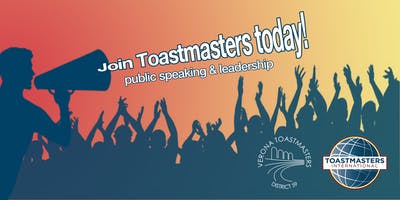 Public Speaking - Verona Toastmasters Meeting