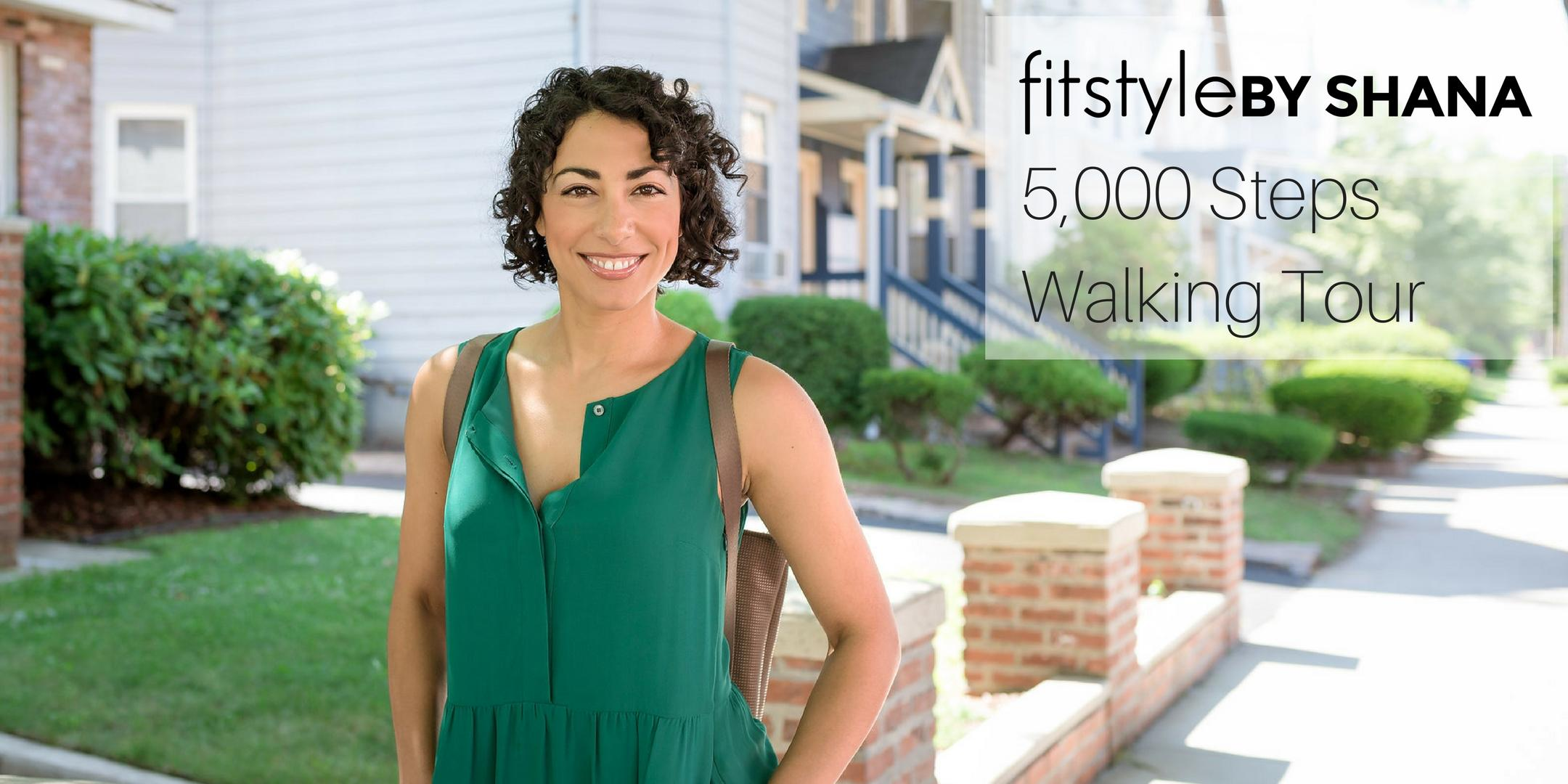 Fitstyle Walking Tour: Downtown New Haven in 5,000 Steps