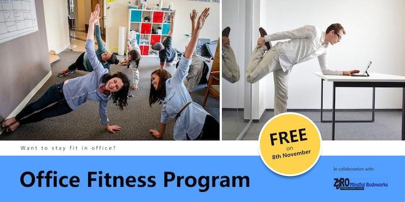 Office Fitness Program by ZeroFitnessDanceStudio