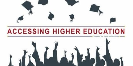 Accessing Higher Education Track- Mainside tickets