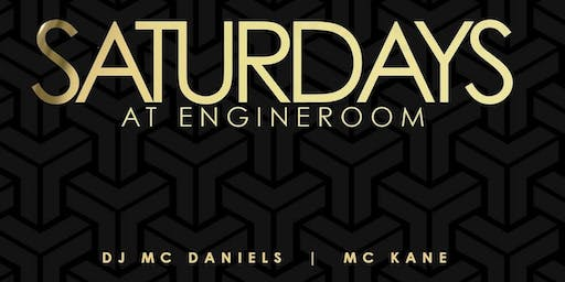 SUEDE SATURDAY'S @ ENGINE ROOM