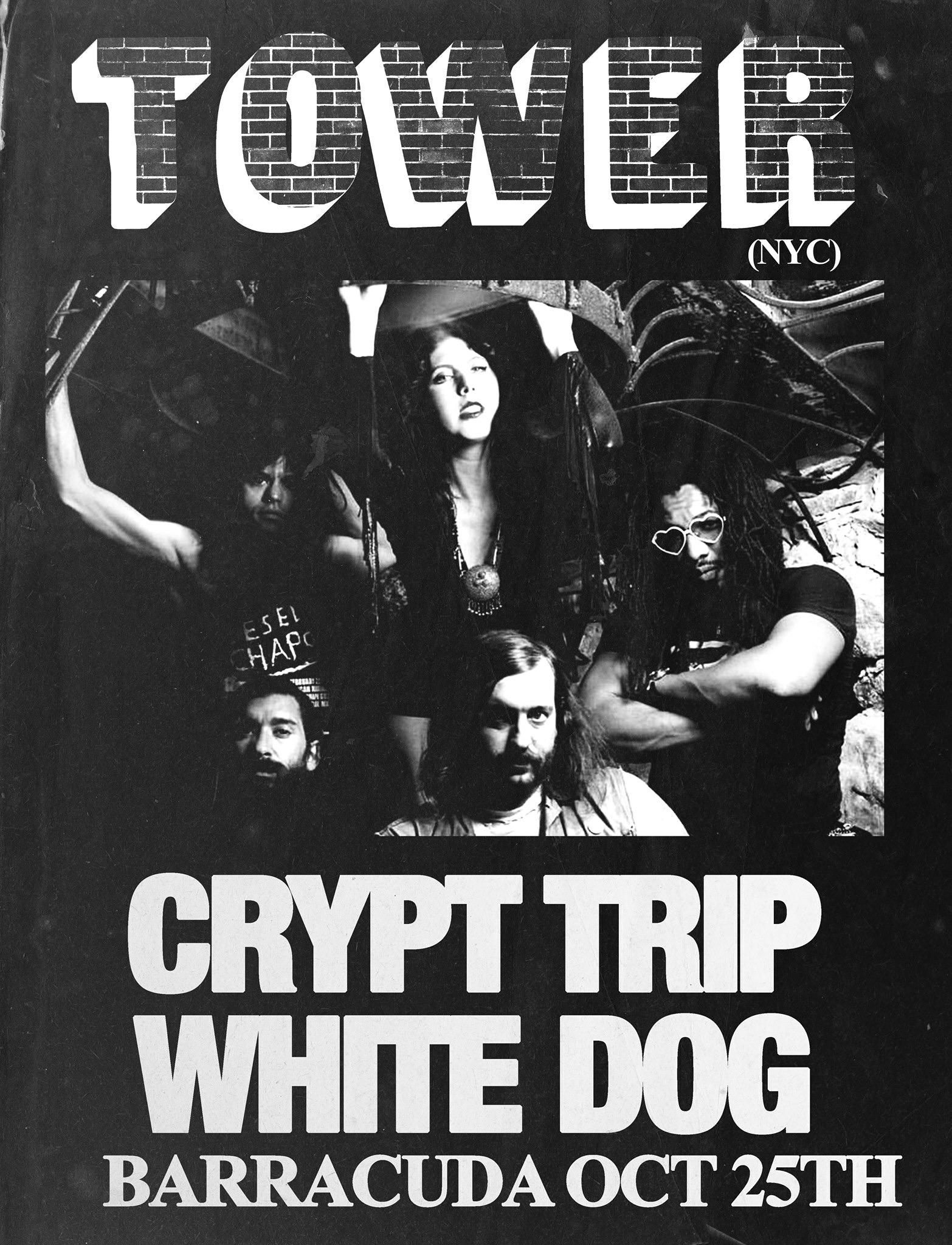 Tower, Crypt Trip, White Dog