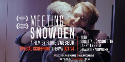 Meeting Snowden: Special Screening with Flore Vasseur