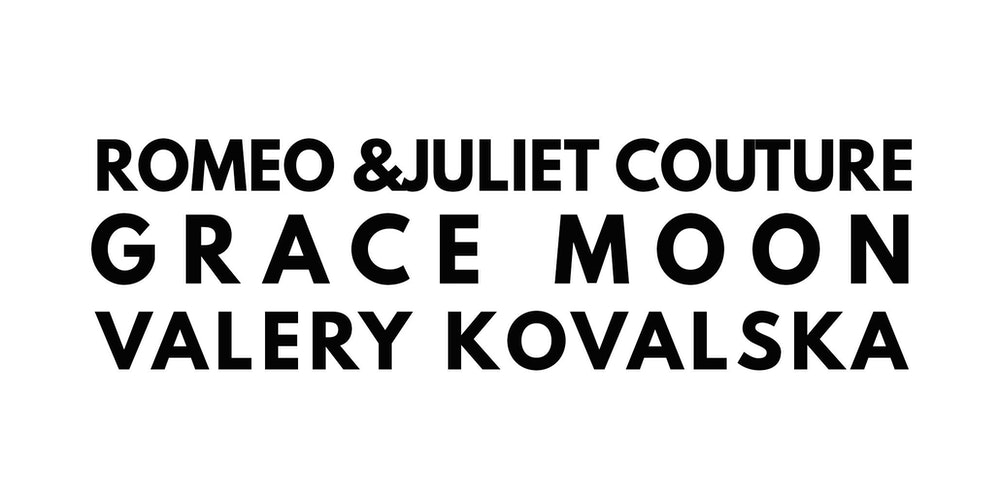 Romeo Juliet Couture Valery Kovalska Grace Moon SS18 Presented By Style Fashion Week