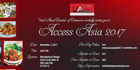 Utah Asian Chamber Of Commerce Events Eventbrite