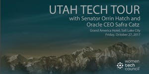 Utah Tech Tour with Senator Orrin Hatch & Oracle CEO...
