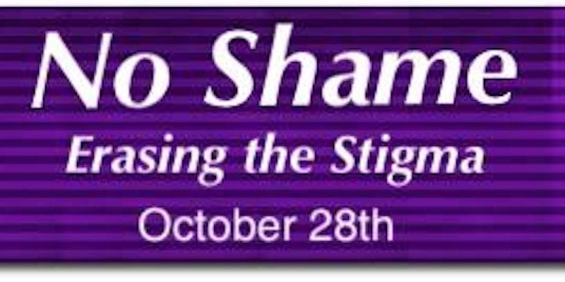 No Shame; Erasing The Stigma Rally - Oct 28