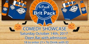 FREE DRINKS & OPEN BAR 6Pack at BritPack Comedy...