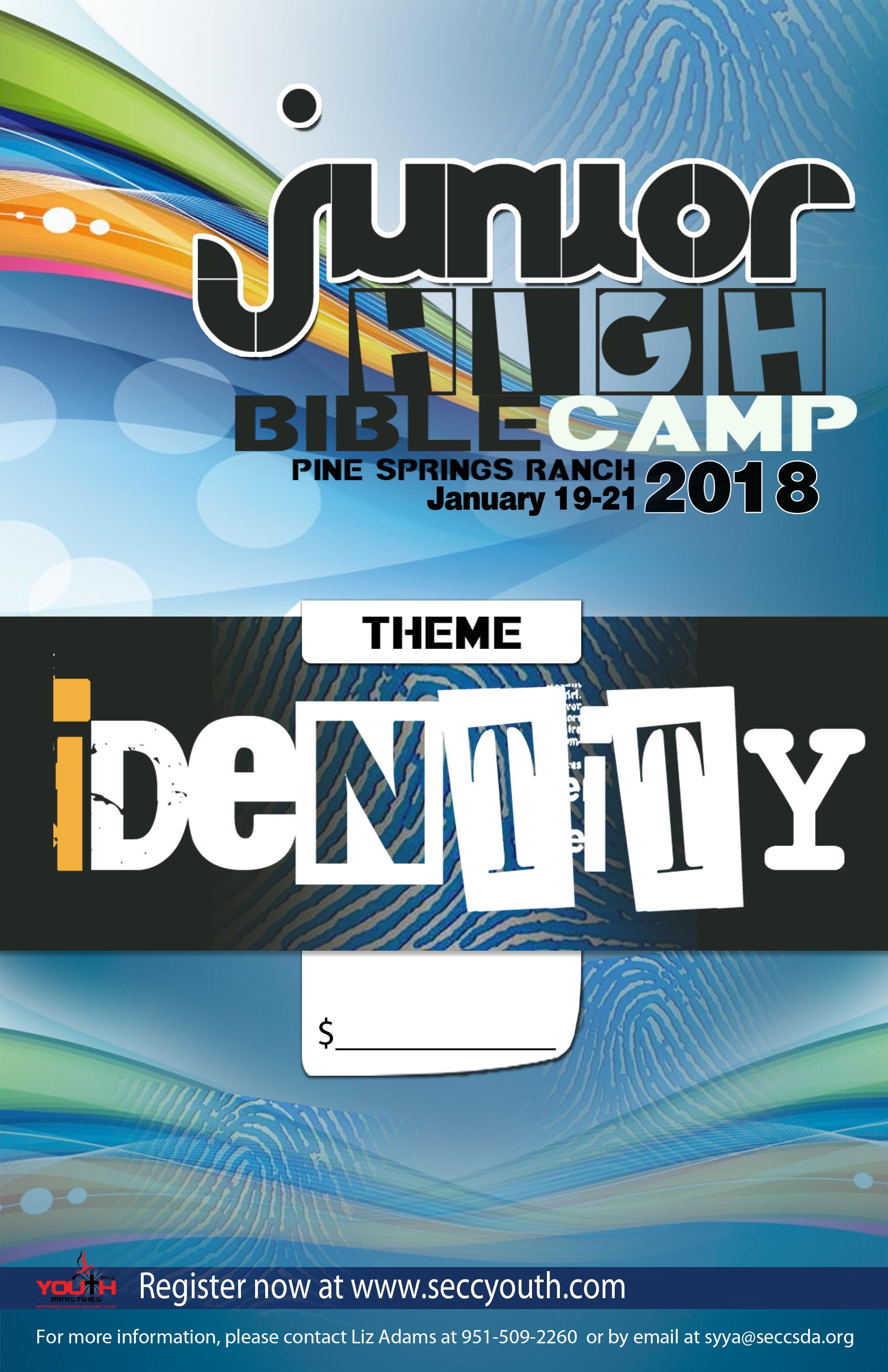 Jr. High Bible Camp 2018