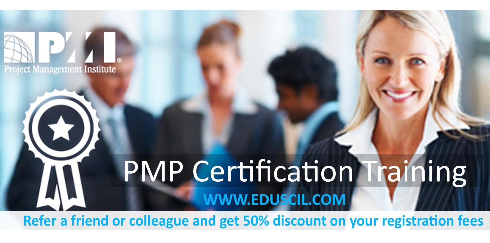 4 Days PMP Training Workshop at Los Angeles,