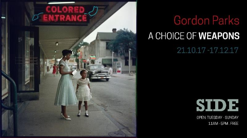 EXHIBITION OPENING EVENT: Gordon Parks: A Choice of Weapons