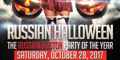 Russian Boston HALLOWEEN PARTY
