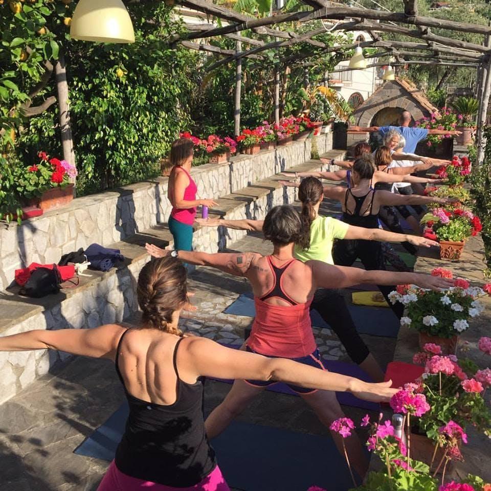 Yoga Retreat on the Amalfi Coast, Italy