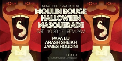 MOULIN ROUGE MASQUERADE HALLOWEEN PARTY!