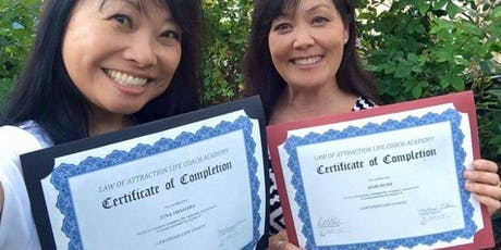 1 DAY LIFE COACH CERTIFICATION CLASS tickets