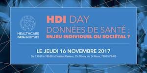 """HDI Day - """"Données de santé : enjeu individuel ou..."""