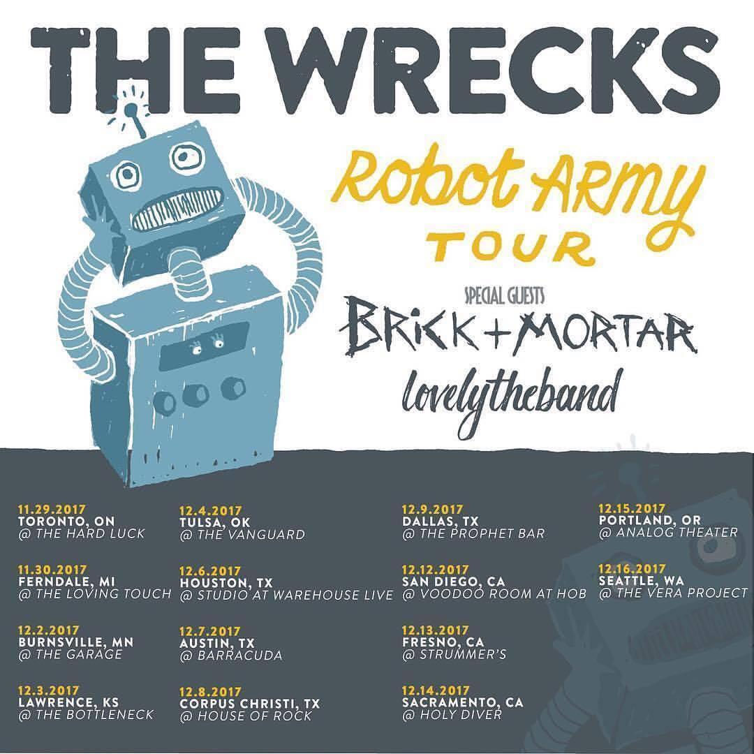 The Wrecks, Brick + Mortar, Lovelytheband