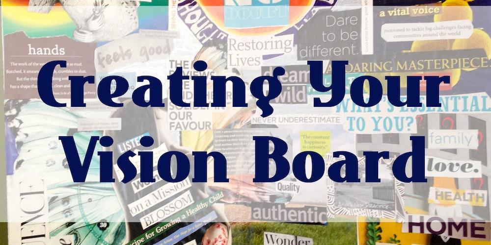 creating vision board