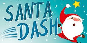 Wythenshawe Park Santa Dash 2017