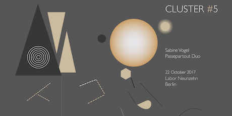 Cluster 5 W Sabine Vogel And Passpartout Duo Tickets