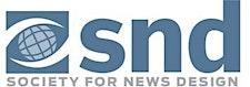 The Society for News Design logo