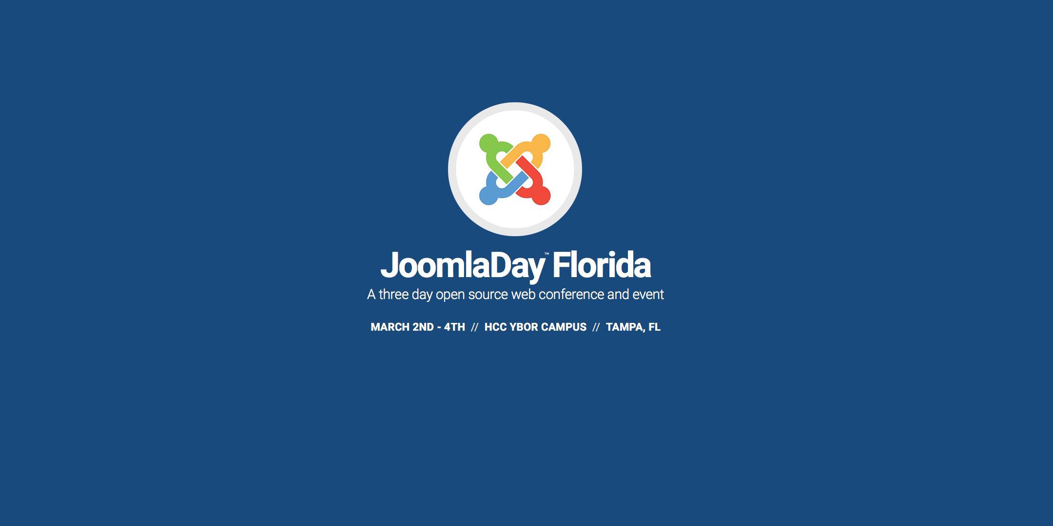 JoomlaDay Florida 2018