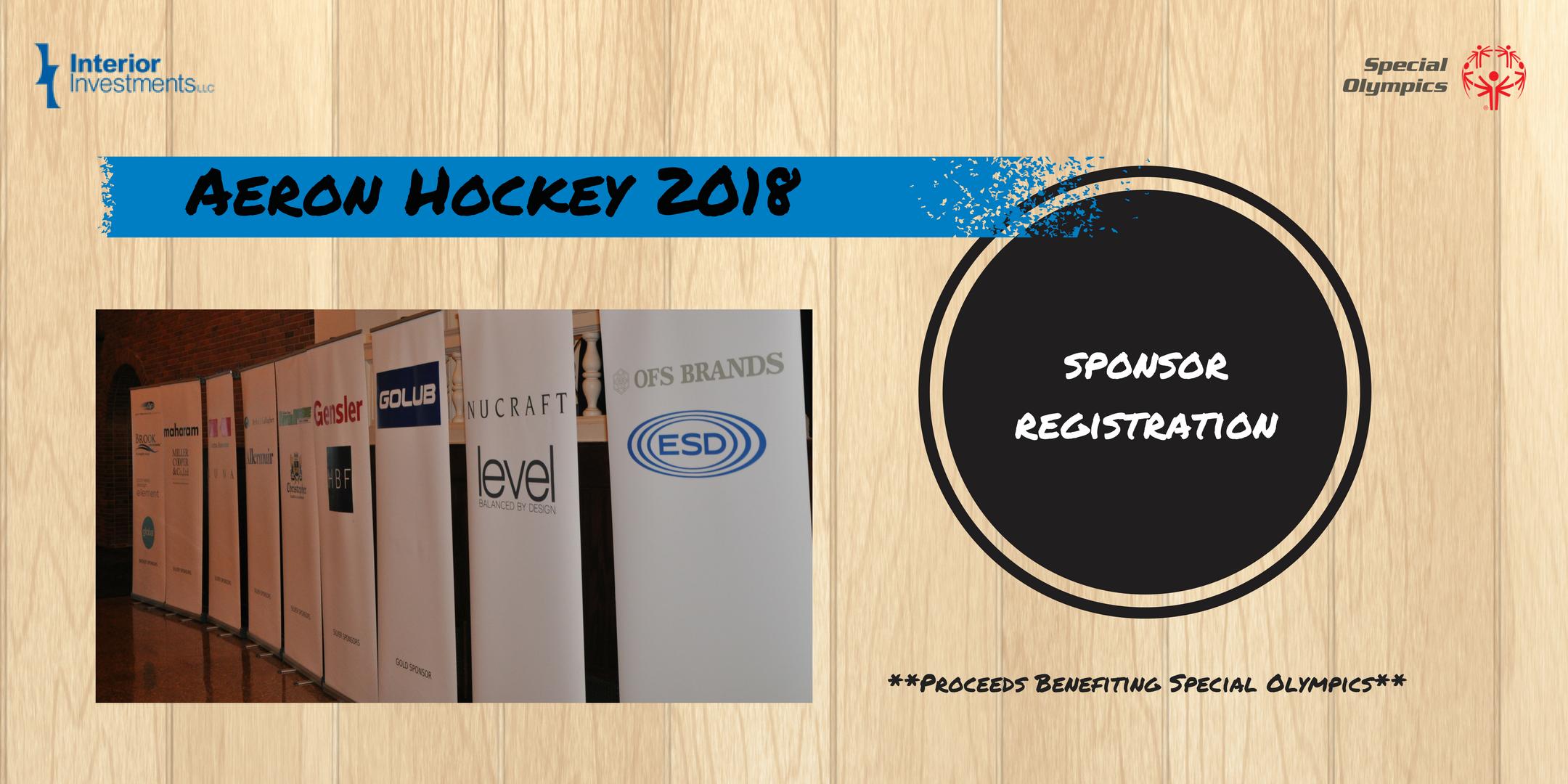 12th Annual Aeron Hockey Sponsorships