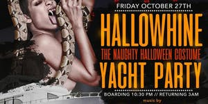 HALLOWEEN COSTUME YACHT PARTY AT THE CABANA YACHT...