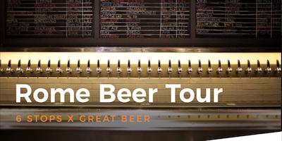 Rome App-led Beer Tour