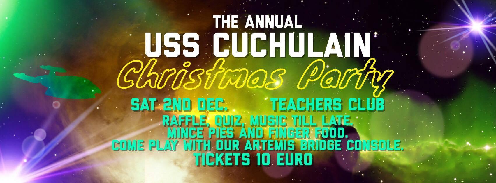 USS Cuchulain Christmas Shindig 2017