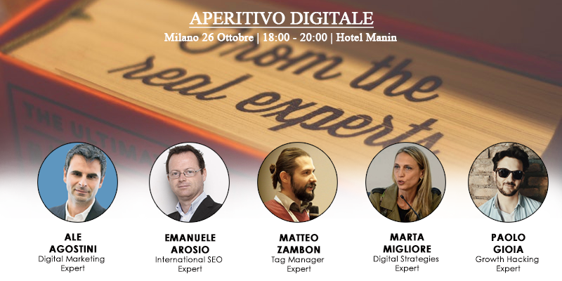 26	OCTOBER MILAN - Digital Aperitif 2017