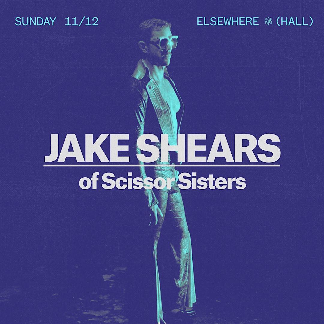 Jake Shears (of Scissor Sisters)