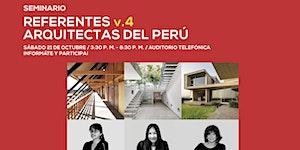 REFERENTES v.4 | ARQUITECTAS DEL PERÚ