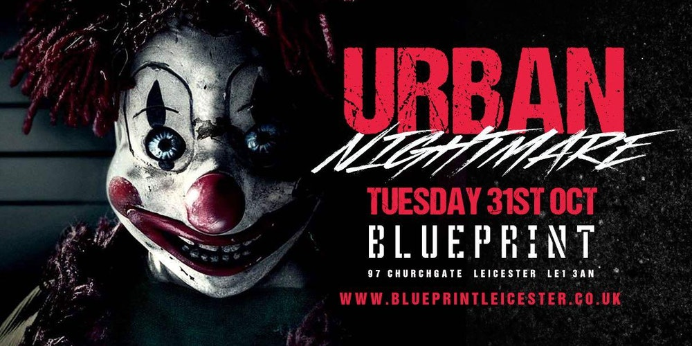 Urban nightmare tickets tue 31 oct 2017 at 2200 eventbrite malvernweather