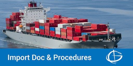 Importing Procedures Seminar in Milwaukee