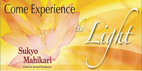 "Open House ~ Come experience the positive energy called ""Light"" tickets"