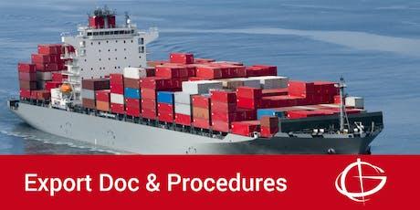 Export Documentation and Procedures Seminar in Orlando tickets