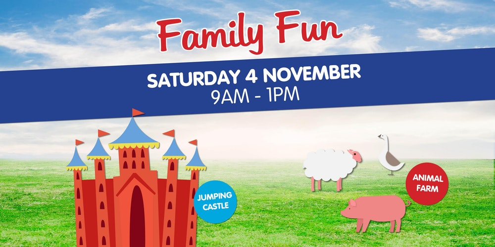Free family fun day tickets sat 04112017 at 900 am eventbrite negle Images