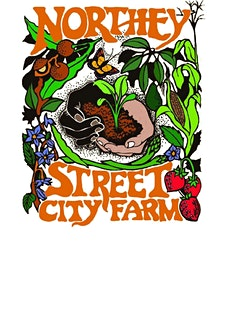 Northey Street City Farm logo