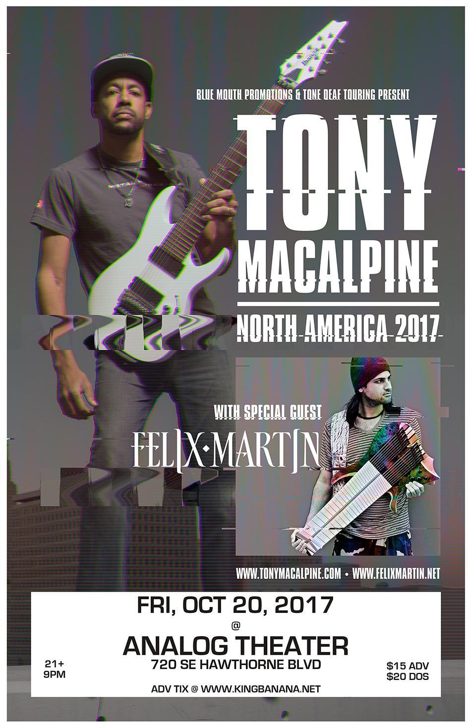 Tony MacAlpine & Felix Martin