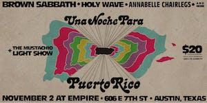 Una Noche Para Puerto Rico : Brown Sabbath, Holy Wave...