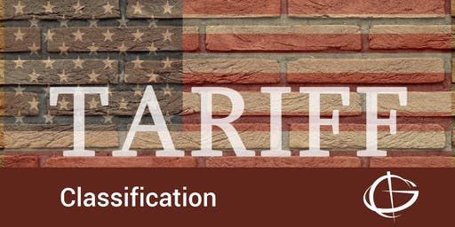 Tariff Classification Seminar in Charlotte